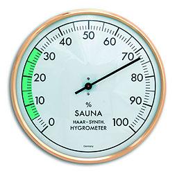 Гигрометр для бани и сауны (1012) биметаллический