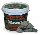 Камни для бани и сауны жадеит шлифованный  - компания ИТС
