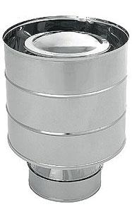 Дефлектор на  дымоход для бани, 2-контурный,D130/260мм - компания ИТС