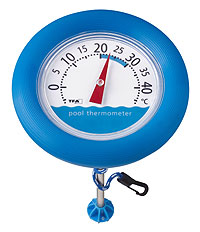 Термометр для бассейна (2007), биметаллический