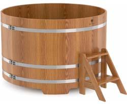 Купель для бани круглая шестиместная (дуб) - компания ИТС