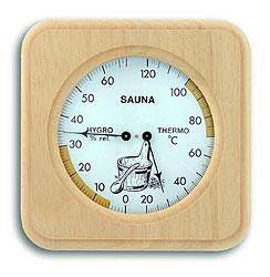Термогигрометр для бани (1007), биметаллический/ струнный