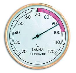 Термометр для бани и сауны (1011), биметаллический