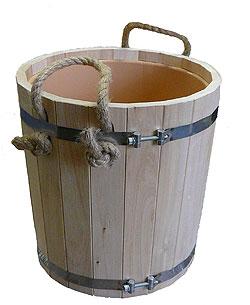 Запарник для банного веника, 15л, с пластиковым вкладышем - компания ИТС