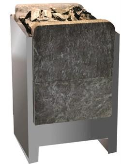 Карина ЭНУ ленточная электрокаменка в камне 8 кВт 380v (камень вертикальный) без ПУ - компания ИТС