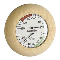 Термогигрометр для бани (1028), биметаллический