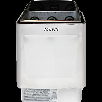 Harvia Trendi Kip-90 E Steel (выносной пульт управления) - печь для семейной сауны - компания ИТС