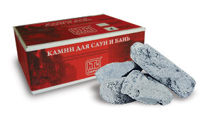 Камень для бани и сауны габбро-диабаз