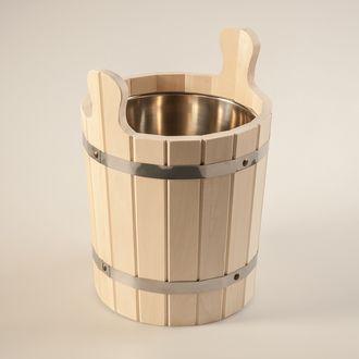 Запарник деревянный для сауны и бани (Saommi) 12л с нержавеющей .вставкой и дер.дном - компания ИТС