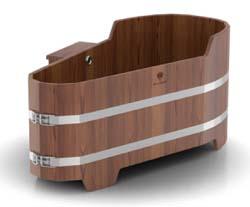 Ванна 1,50х0,75м, h=0,59/0,69м (лиственница) - компания ИТС