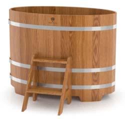 Купель для бани овальная двухместная (дуб) - компания ИТС