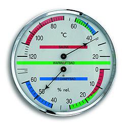 Термогигрометр для бани (1013), биметаллический/ струнный - компания ИТС