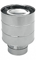 Дефлектор на дымоход для бани, 2-контурный d115/215мм - компания ИТС