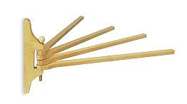 Вешалка  веерная 360х300 деревянная из лиственных пород - компания ИТС