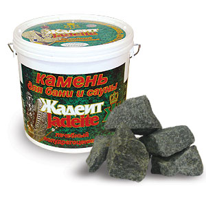 Камни для бани и сауны Жадеит колотый - компания ИТС