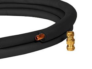 Паропровод d 15мм с утеплением и штуцерами (5м) для парогенератора - компания ИТС