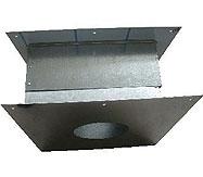 Проходной стеновой узел(ПСУ)  дымохода для бани,D 260 мм - компания ИТС