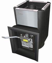 Печь для бани газо-дровяная «УРАЛОЧКА 20» в комплекте с ГГУ (автоматикой) - компания ИТС