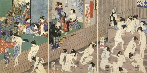 Сексуальные обычаи японцев