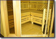 Floors in kit sauna