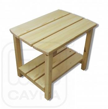 Столик из дерева «Иван да Маша» - компания ИТС