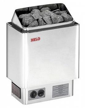 Электрическая печь для сауны Cup 60 STJ Helo хром - компания ИТС