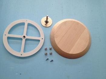Вентиляционная заглушка d100 мм К из лиственных пород - компания ИТС