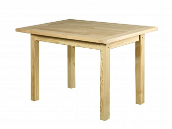 Стол для бани из лиственных  пород - компания ИТС