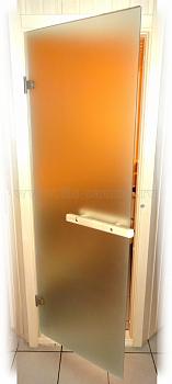 Дверной блок ПЛ-44Л, нестандарт, 685х2020 мм, стекло, сатин, коробка из лиственных пород дерева - компания ИТС