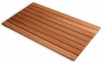 Решетка на пол 0,7 х 0,9 из лиственных  пород - компания ИТС