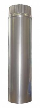 Труба  дымохода для бани, 0,5м, D 115мм,1-контурная - компания ИТС