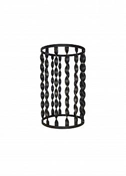 Сетка малая ( 500мм) на трубу дымохода для бани, черный металл - компания ИТС