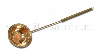 Черпак для бани и сауны Большой медный, 85 см  - компания ИТС
