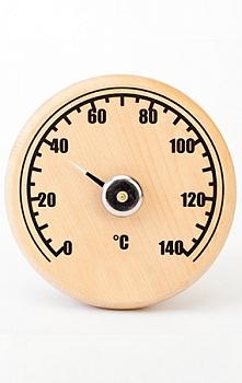 Термометр -Банная станция открытая круглая СБО-1Т - компания ИТС