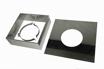 ППУ (потолочно-проходной узел) для дымохода для бани, отверстие под дымоход D115/215мм - компания ИТС