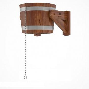 Обливное устройство, опрокидывающееся ведро (лиственница мореная) - компания ИТС