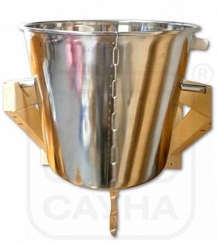 Обливное устройство, опрокидывающееся ведро для бани (ИТС) - компания ИТС