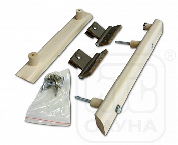 Комплект ручек с петлями для стеклянной двери - компания ИТС