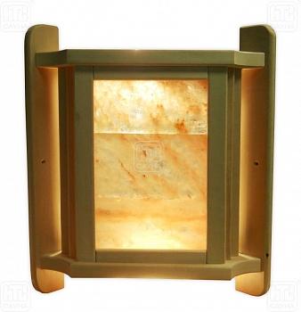 """Банный абажур для углового светильника с гималайской солью, модель""""Элит М"""" - компания ИТС"""