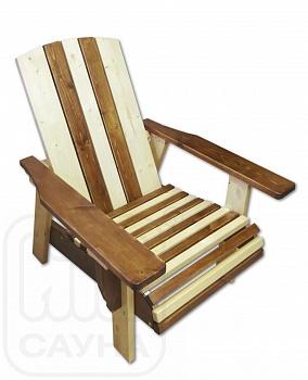 """Кресло """"ИВАН да МАША"""" из хвойных пород дерева, цвет комбинированный - компания ИТС"""