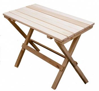 """Стол для бани """"Садко"""" из натурального дерева"""