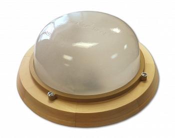 """Светильник для бани и сауны """"Терма 1301"""" Круг малый, матовый, 60 Вт - компания ИТС"""