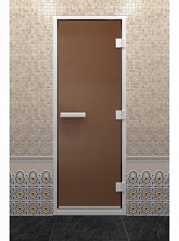 Дверь для хамам, 70х190см, бронза матовая, ДВ - компания ИТС