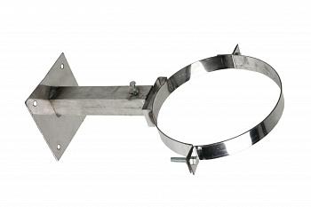 Кронштейн М стеновой телескопический (20-35) для крепления дымохода для бани, D260 мм - компания ИТС