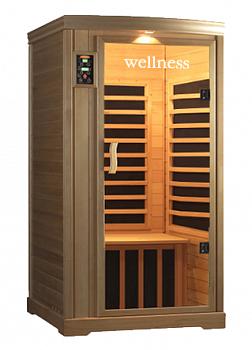 Инфракрасная кабина ИК LH-901B (Одноместная кабина Хемлок) - Wellness - компания ИТС