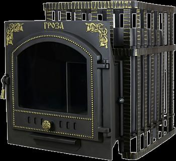 Печь для бани Гефест Гроза 24ПС(Сетка),чугунная дровяная печь,до24м3 - компания ИТС