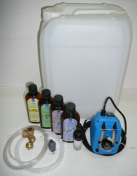 Комплект ароматизации для банного парогенератора. - компания ИТС