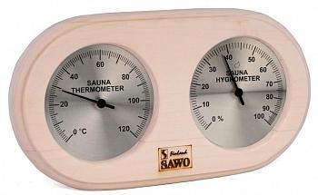 Термогигрометр 222-THA (светлый) SAWO - компания ИТС