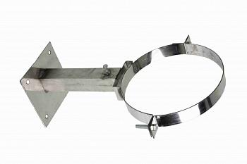 Кронштейн М стеновой телескопический (20-35см),D до 220 мм, для крепления дымохода для бани - компания ИТС