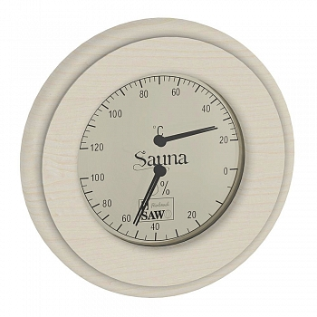 Термогигрометр 231-THA (светлый) SAWO - компания ИТС